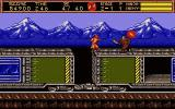 "Ninja Gaiden II: The Dark Sword of Chaos DOS the obligatory ""moving train"" level"