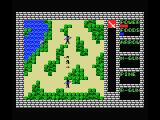 Rambo MSX Shoot or avoid the enemies