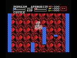 Knightmare II: The Maze of Galious MSX Use the elevator to go up or down