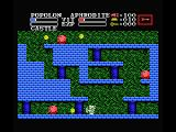 Knightmare II: The Maze of Galious MSX Hit the rocks to get coins