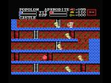 Knightmare II: The Maze of Galious MSX Avoid the enemies