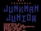 Junkman Junior TI-99/4A Title screen