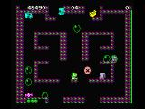 Bubble Bobble MSX Watch out for the monsters