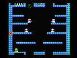 Bubble Bobble MSX Shoot the monsters