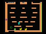 Bubble Bobble MSX Catch the Bubbles! The bubbles change in fruits