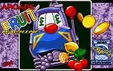 Arcade Fruit Machine DOS Title screen