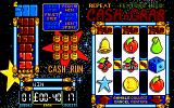 Arcade Fruit Machine DOS Playing screen