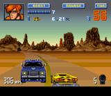 Lamborghini: American Challenge SNES To compete in the next division, you must beat each division challenge in less than 60 seconds.