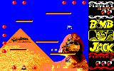 Bomb Jack Amstrad CPC You get 200 points for collecting an active bomb