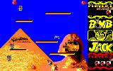 Bomb Jack Amstrad CPC An enemy lurks behind you