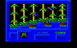 Army Moves Amstrad CPC The hero makes a splash
