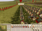 Rome: Total War - Barbarian Invasion Windows The fierce Romans try to push out some brigands