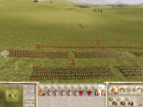Rome: Total War - Barbarian Invasion Windows Overview of the battlefield