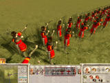 Rome: Total War - Barbarian Invasion Windows Archers ready for fire