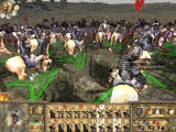 Rome: Total War - Barbarian Invasion Windows Occidental Roman troops are encircled by the Huns