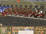 Rome: Total War - Barbarian Invasion Windows The roman feoderati hold the position against the Franks