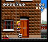 Marko SNES Using the ball as a trampoline