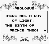The Sword of Hope Game Boy Prologue