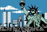The Spy's Adventures in North America Apple II Welcome to New York (Hi-Res mode)