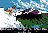 The Spy's Adventures in North America Apple II Each location begins with a brief summary of the area (Hi-Res mode)