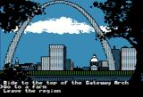 The Spy's Adventures in North America Apple II There are many locations to visit (Hi-Res mode)