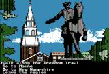 The Spy's Adventures in North America Apple II Want to search in Boston, or go to a new area? (Hi-Res mode)