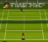 Jimmy Connors Pro Tennis Tour SNES Training