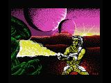 Trantor the Last Stormtrooper MSX Intro screen