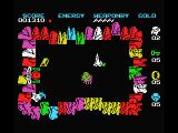 Wizard's Lair MSX Stay in corners as much as possible