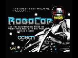 RoboCop MSX Title screen