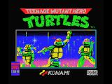 Teenage Mutant Ninja Turtles MSX Title screen
