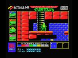 Teenage Mutant Ninja Turtles MSX Climb the stairs...