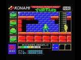 Teenage Mutant Ninja Turtles MSX Wandering the sewers