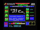Teenage Mutant Ninja Turtles MSX Turtle captures...