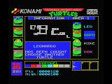 Teenage Mutant Ninja Turtles MSX Select another turtle... and don't get captured!