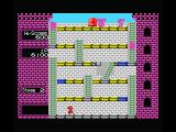 Mr. Do!'s Castle MSX Don't let the unicorns get you