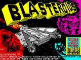 Blasteroids ZX Spectrum Loading screen
