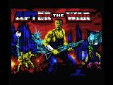 After the War MSX Title screen
