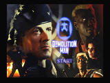 Demolition Man 3DO Title Screen