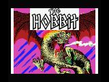 The Hobbit MSX Title screen