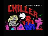 Chiller MSX Title screen