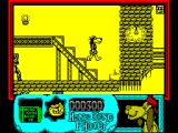 Hong Kong Phooey: No.1 Super Guy ZX Spectrum Down the stairs