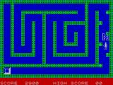 Escape MCP ZX Spectrum These blocks toggle between visible and invisible