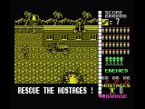 Operation Wolf MSX Concentration Camp