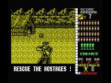 Operation Wolf MSX Shoot the lieutenant