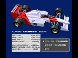 F-1 Spirit: 3D Special MSX Choose a car