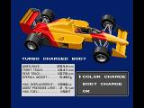 F-1 Spirit: 3D Special MSX You can change the body paint