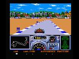 F-1 Spirit: 3D Special MSX Go for maximum speed