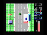 Car Fighter MSX Don't forget to stop at a gas station