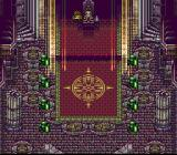 Farland Story 2 SNES The emperor in his castle